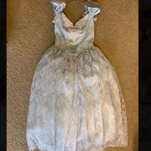 80s ball gown
